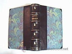 EUROPA SE VA.(Novela). ZAMACOIS, Eduardo. Biblioteca Iris. 1ª Ed. Puntas y lomo en piel: ...