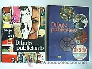 DIBUJO PUBLICITARIO. Volúmenes I ¿ II: Obra completa. Ediciones AFHA, Barcelona, 1963