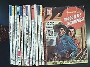 Lote 13 Novelas del Oeste de Donald Curtis: 10.000$ de recompensa (1ª Ed. 1958). La ley de los...