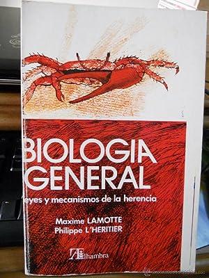 BIOLOGIA GENERAL . Tomo II. Leyes y: LAMOTTE, Maxime/ L´HERITIER
