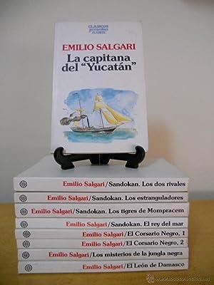 Colección EMILIO SALGARI. Editorial Clásicos Juveniles Planeta.: EMILIO SALGARI