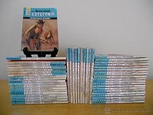 Lote de 50 novelas colección KANSAS. Ediciones B. Autor: LAFUENTE ESTEFANIA, Marcial. ...