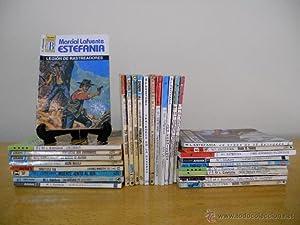 Lote de 30 novelas de distintas colecciones y editoriales. Autor: LAFUENTE ESTEFANIA, Marcial. ...