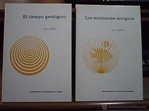 Lote 2 títulos: EL TIEMPO GEOLÓGICO, por Don L. Eicher. LOS AMBIENTES ANTIGUOS, por L...