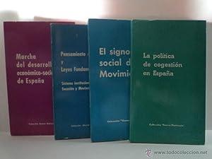 Lote 4 ejemplares Colección Nuevo Horizonte. Comprende: 1: MARCHA DEL DESARROLLO ECON&Oacute...