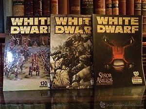 WHITE DWARF. Comprende el nº 117 y 120 de El Señor de los Anillos. El juego de batallas...