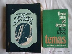 HISTORIA DE LA TEORÍA POLÍTICA. SABINE, George: Detallado en descripción.