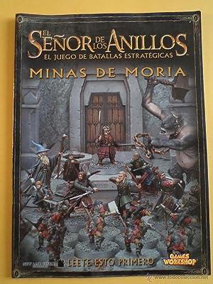 EL SEÑOR DE LOS ANILLOS. El Juego de Batallas Estratégicas. Games Workshop. 32 p&...