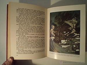 PETER PAN. MATTHEW BARRIE, James. Ilustraciones plumilla y color de Arthur Rackham (1867-1939. ...