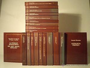 BIBLIOTECA DEL ESTUDIANTE. Colección con los siguientes 19 títulos y autores: ANTOLOG...