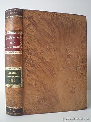 BOLETÍN JURÍDICO-ADMINISTRATIVO. Apéndice de 1907. Anuario de Legislaci&oacute...