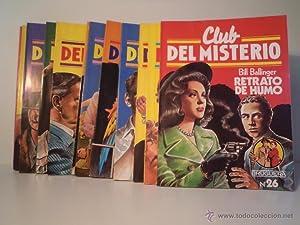 COLECCIÓN CLUB DEL MISTERIO.Editorial Bruguera. Comprende los: Detallado en descripción.
