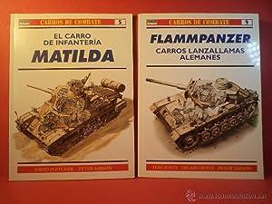 Colección CARROS DE COMBATE nºs. 5 y: Detallado en descripción.