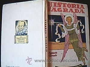 Historia Sagrada Segundo Grado. Curso completo de Primera Enseñanza.-Ascarza. S/F. ...