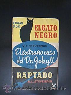 El gato negro / El extraño caso: Detallado en descripción.