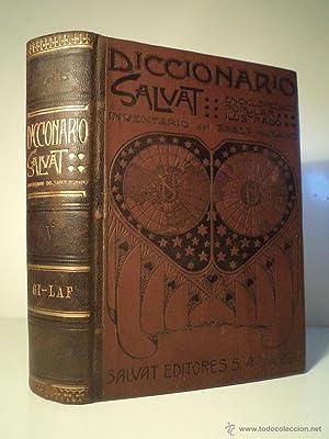 DICCIONARIO SALVAT. Enciclopédico. Popular. Ilustrado. Inventario del Saber Humano. Tomo V. ...