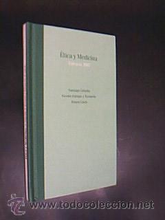 ETICA Y MEDICINA. Autores: GRISOLÍA, Santiago. TARANCÓN,: Detallado en descripción.
