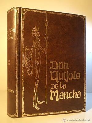 DON QUIJOTE DE LA MANCHA. CERVANTES, Miguel de. Con ilustraciones de Gustavo Dore grabadas por ...