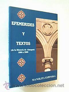Efemérides y textos de la historia de: Detallado en descripción.