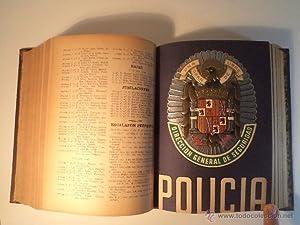 POLICIA. Revista Técnico Legislativa. Volumen que comprende desde los números 23 ...