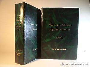 HISTORIA DE LA ALERGOLOGÍA ESPAÑOLA (1890-1990). REVISIONES BIBLIOGRÁFICAS. ...