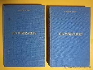 LOS MISERABLES. Tomos I-II: Obra completa. HUGO,: Detallado en descripción.