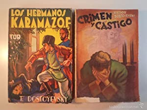 LOS HERMANOS KARAMAZOF / CRIMEN Y CASTIGO.: Detallado en descripción.