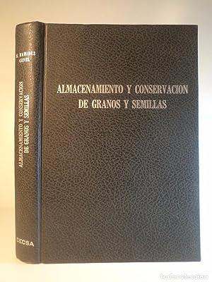 ALMACENAMIENTO Y CONSERVACIÓN DE GRANOS Y SEMILLAS.: Detallado en descripción.