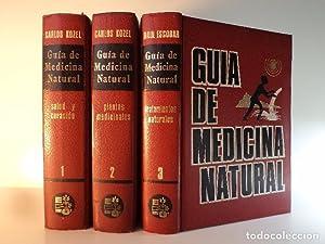 GUÍA DE MEDICINA NATURAL. Volúmenes I-II-III: Obra