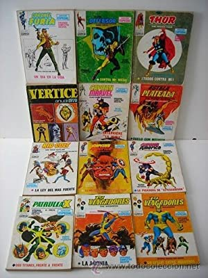 Lote Colección Marvel Comics Group. Ediciones Internacionales. Ediciones Vértice. Barcelona