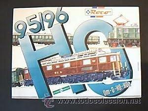 CATÁLOGO MODELISMO FERROVIARIO ROCO 95/96. 291 páginas ilustradas color.: ROCO