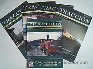 Lote con 5 ejemplares de la revista TRACCIÓN. Asociación de Amigos del Ferrocarril de...
