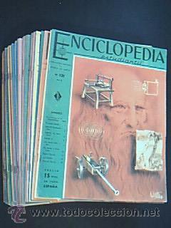 ENCICLOPEDIA ESTUDIANTIL. Distribuidora Europea de Publicaciones (Diseuropa), año 1962. 4 o ...