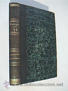 OEUVRES COMPLETES DE VOLTAIRE. Tome LIV. LETTRES DE M. DE VOLTAIRE ET DE M. D´ALEMBERT. 1830:...
