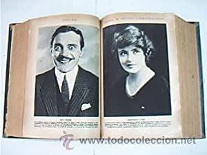 LECTURAS. Dos volúm. Sobre 1930. Fotos cine mudo, dibujos Ricardo Opisso, Comics Junceda, ...