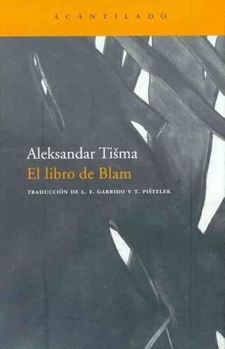 El De Blam - Tisma, Aleksandar - TISMA, ALEKSANDAR