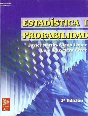 Estadistica 1: Probabilidad (2da.edicion): Martin Pliego, Javier