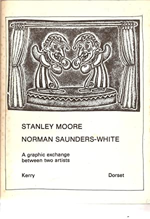 A Graphic Exchange Between Two Artists.: Moore, Stanley & Saunders-White, Norman
