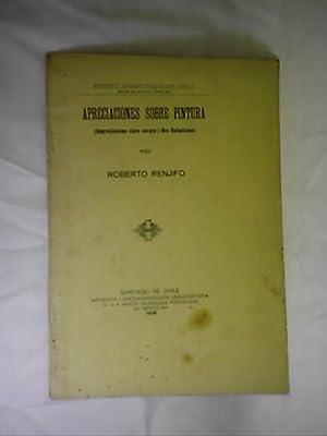 APRECIACIONES SOBRE PINTURA (IMPRESIONISMO CLARO-OSCORI I PRE-RAFAELISMO): RENJIFO, ROBERTO
