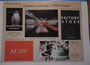 Giorgio Armani - CRM from DATA to DASHBOARD [Customer Relations Management] - - International ...