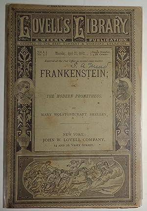 Frankenstein, or, The Modern Prometheus: Mary Wollstonecraft Shelley