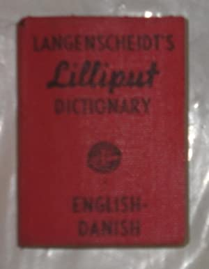 LANGENSCHEIDT'S LILLIPUT DICTIONARY - ENGLISH / DANISH: LANGENSCHEIDT, KG