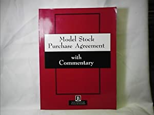 MODEL STOCK PURCHASE AGREEMENT WITH COMMENTARY: EGE, KARL J. (PREFACE BY)