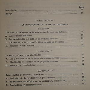 ECONOMIA CAFETERA COLOMBIANA FONDO CULTURAL CAFETERO: BONNET, ROBERTO JUNGUITO (DIRECTOR DEL ...