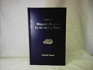 HISPANIC PRESENCE IN THE UNITED STATES: VARONA, FRANK de