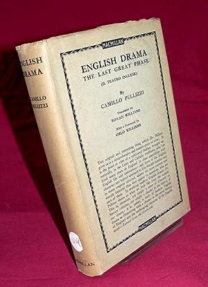 English Drama: C. Pelliizzi
