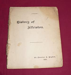 History of Alfriston: Florence A. Pagden