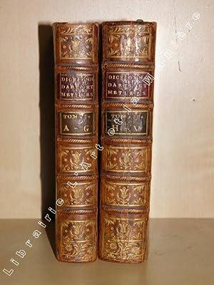 Dictionnaire portatif des Arts et Métiers, contenant: MACKER - MACQUER]