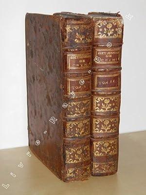 Dictionnaire de Chymie, contenant la Théorie et: MACQUER]