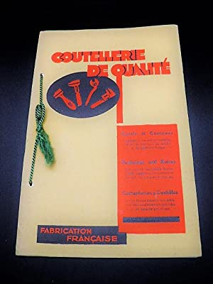 Catalogue ancien de coutellerie en couleurs